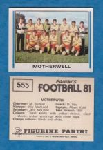 Motherwell Team 555